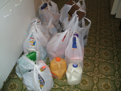 April 17, 2007: $100 Worth Of Groceries.