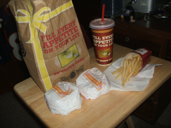 December 17, 2007: Midnight BK Munchies.